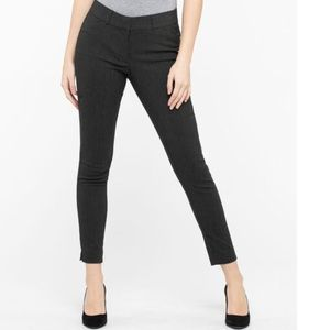 Ricki's Microtwill Fly Front Ankle Pant